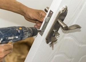 changing home door lock